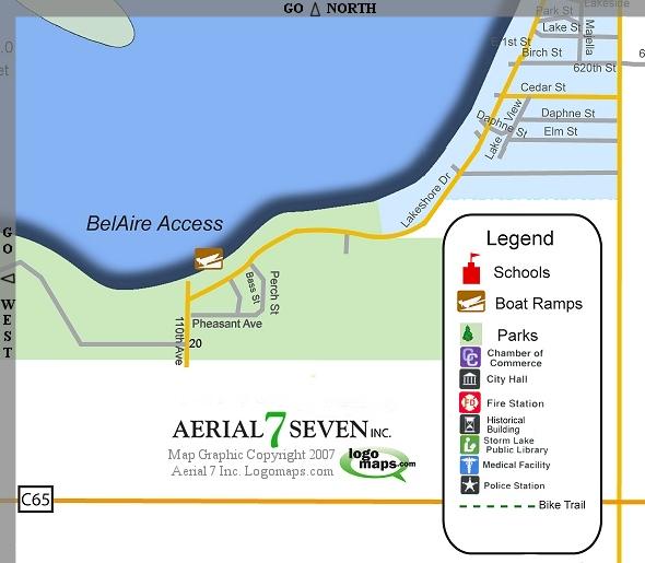 Storm Lake Iowa Interactive Map